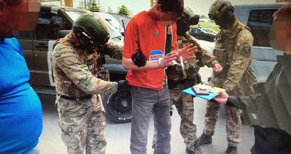 Varios efectivos ucranianos detienen a un ciudadano francés que iba cometer atentados durante la Eurocopa.