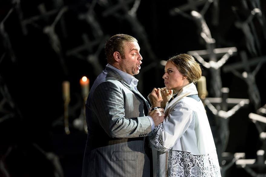 La ópera Norma se proyectará este lunes en tres salas de Cinépolis. (Foto Prensa Libre: Cortesía CINEVENTO)