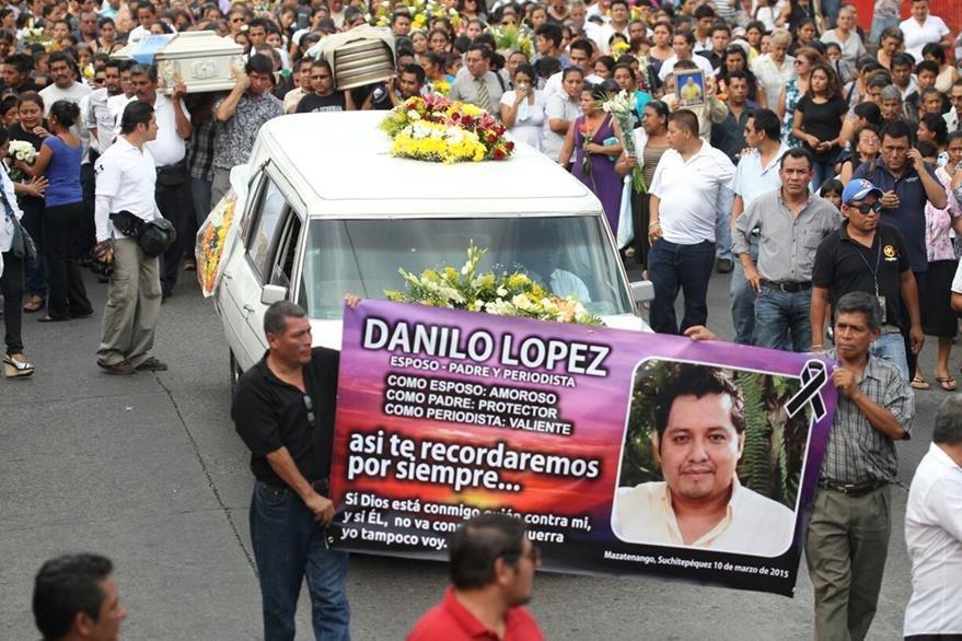 La investigación para esclarecer el crimen contra los periodistas Federico Salazar y Danilo López sigue abierta.(Foto Prensa Libre: Hemeroteca PL)