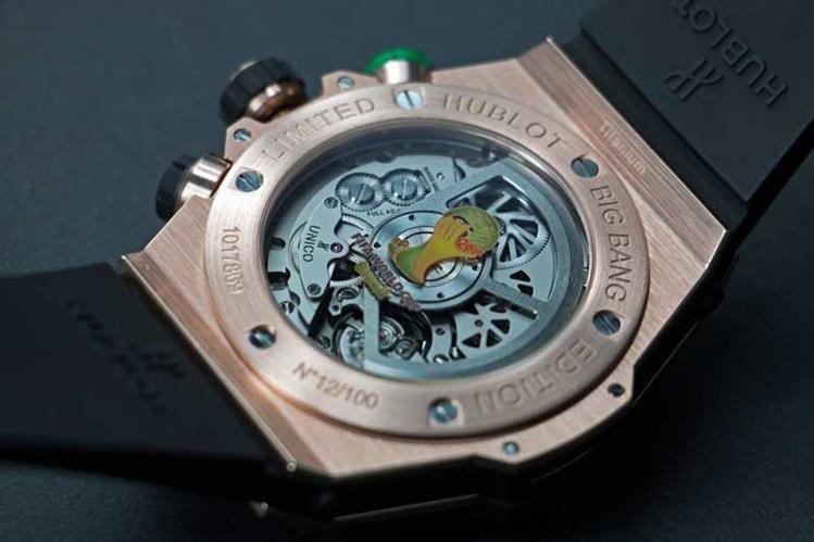 Este es uno de los relojes que se entregaron a varios miembros de la FIFA por la organización del Mundial de Brasil 2014. (Foto Prensa Libre: Internet)