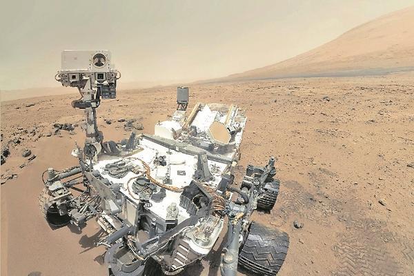<p>Imagen del explorador Curiosity en Marte, el 31 de octubre del 2012. (Foto Prensa Libre: Nasa)</p>