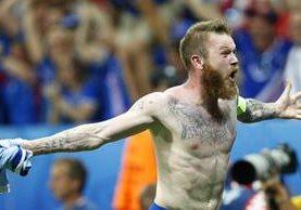 Gunnarsson ha sido figura con la selección de Islandia. (Foto Prensa Libre: Hemeroteca PL)