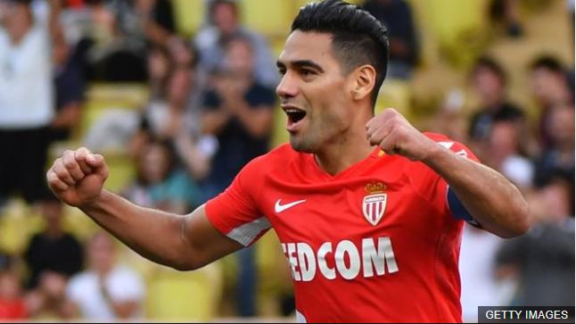 Falcao lleva nueve goles en lo que va de temporada con el Mónaco. (Foto Prensa Libre: BBC Mundo)