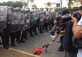 Los derechos se han vulnerado en protestas, dicen activistas. (Foto del sitio: noticieroenfoque.com)
