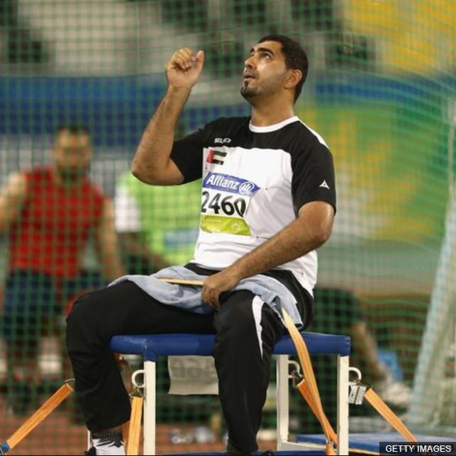 Hayayei había participado en los juegos paralímpicos de Río 2016 y en los mundiales de Doha en 2015.