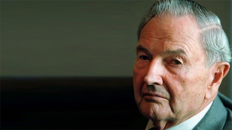 David Rockefeller falleció en su casa de Pocantico Hills Nueva York a los 101 años. (Foto Prensa Libre: RT)