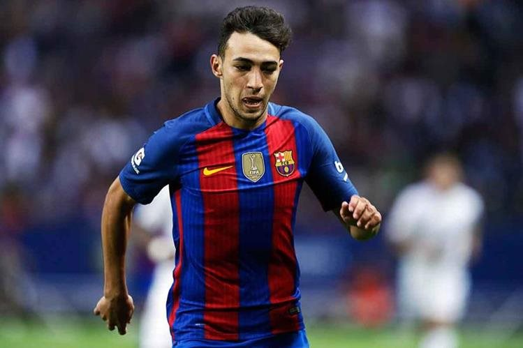 Munir forma parte del Barcelona de La Liga española. (Foto Prensa Libre: Hemeroteca)