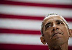 <em>El presidente de Estados Unidos, Barack Obama denunció enérgicamente a los opositores del acuerdo nuclear con Irán por considerar que apuestan contra la paz. (Foto Prensa Libre: EFE).</em>