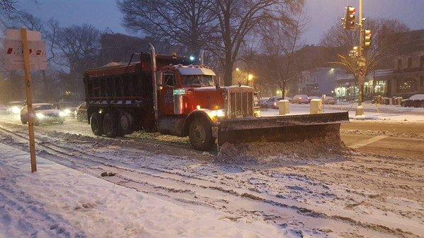 Washington, EE. UU. cubierto de nieve. (Foto cortesía: Blade Contreras).