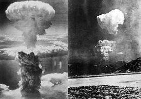 La explosión de Hiroshima el 6 de agosto de 1945.(Foto: AFP)