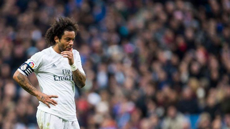El brasileño Marcelo habló de último partido de la liga española donde esperab un tropiezo del Barcelona para intentar ganar el título. (Foto Prensa Libre: Hemeroteca)