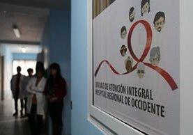 La Unidad de Atención Integral del Hospital Regional de Occidente atenderá a pacientes con VIH con problems de nutrición. (Foto Prensa Libre: Cortesía HRO)