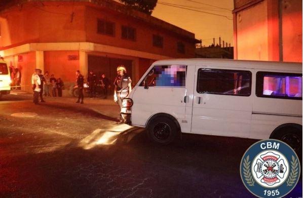 El piloto de un microbús fue asesinado en la colonia Lomas de Lavarreda el pasado 27 de marzo.