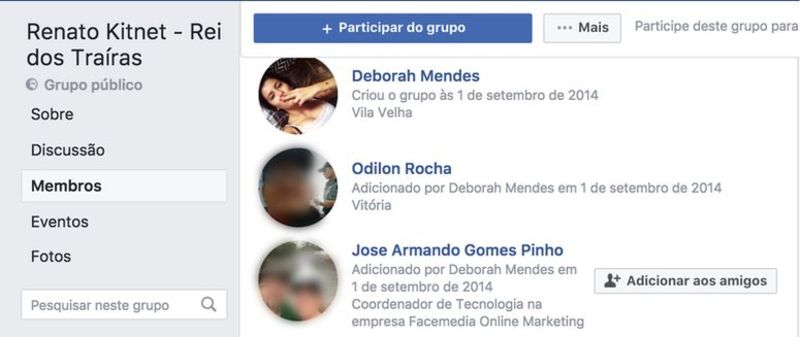 A través de los perfiles falsos creaban grupos en Facebook para favorecer o perjudicar a ciertos candidatos e interactuaban con usuarios reales. (Foto: Facebook/reproducción)