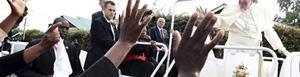Papa Francisco llega a Uganda.