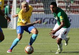Los mejores momentos del partido de Bolivia contra Brasil