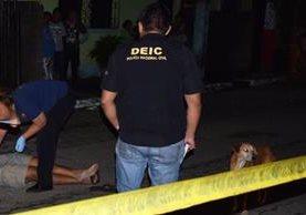 Miguel Ángel García perdió la vida en el ataque armado en el Puerto San José. (Fotos Prensa Libre)