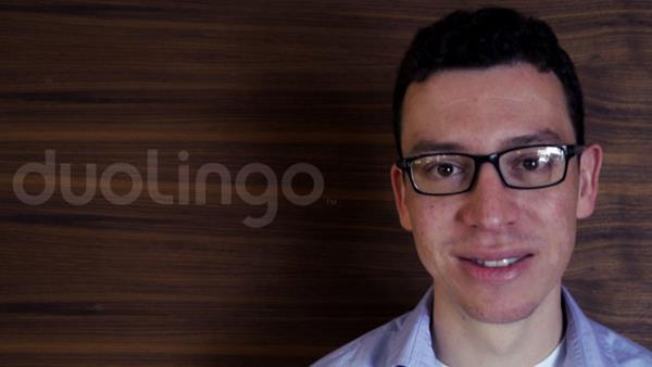 Luis Von Ahn, co fundador y Director Ejecutivo de Duolingo.
