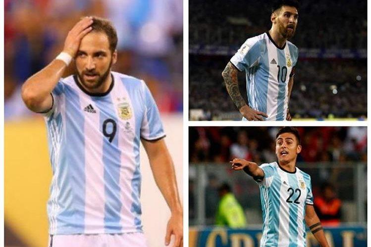 Gonzalo Higuaín no entra en los planes del técnico de la selección de Argentina. (Foto redes)