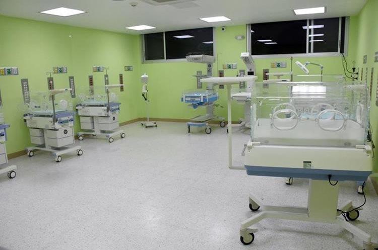 El equipo del Hospital Regional de Huehuetenango es el más moderno del país. (Foto Prensa Libre: Mike Castillo)