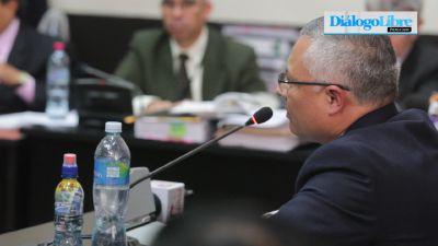 Salvador Gonzáles alias Eco, delató a Otto Pérez y a Roxana Baldetti (Video Prensa Libre: Álvaro Interiano)
