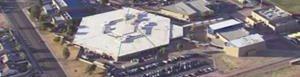Imagen aérea del establecimiento.