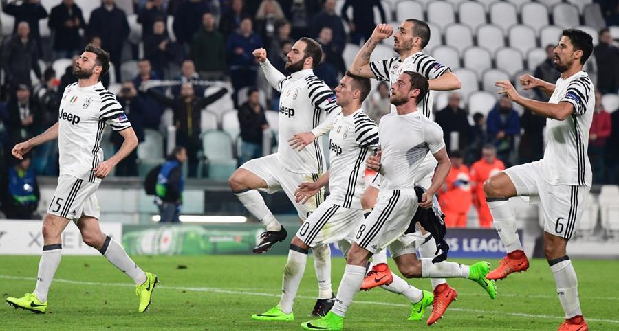 La Juventus de Turín luchará por avanzar a semifinales y apuntar al título. (Foto Prensa Libre: AFP)