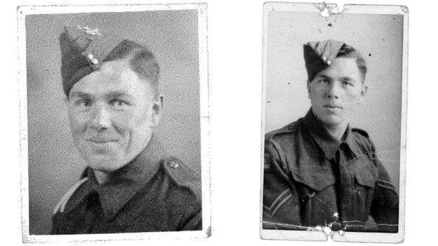 Nacido en 1921, Stanley Cooney tenía 22 años cuando se alistó en el ejército británico. (FAMILIA COONEY)
