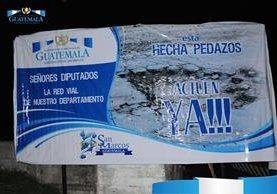 Diputados criticaron el actuar del gobernador de San Marcos. (Foto Prensa Libre: Gobernación Departamental de San Marcos)