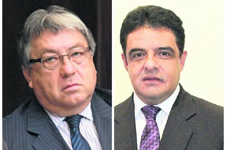Diputados César Fajardo y Carlos López. (Foto Prensa Libre: Hemeroteca PL)