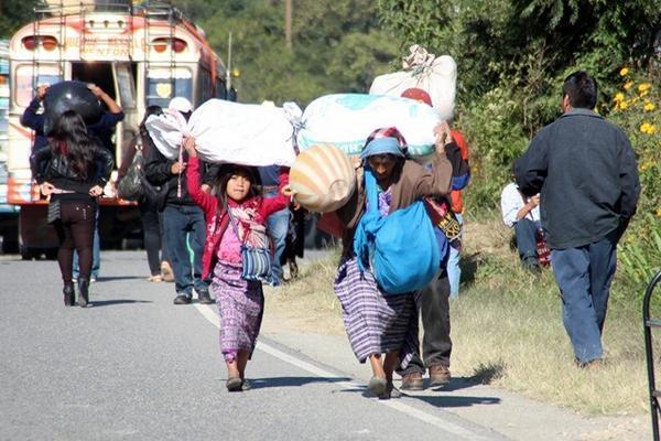 <p>Niños en Huehuetenango ayudan a sus padres en corte de café, para ayudar en economía de su hogar. (Foto Prensa Libre: Mike Castillo)<br></p>