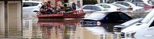 Inundaciones en Texas.