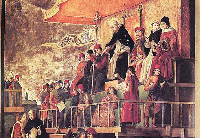 La orden de los Dominicos, fundada por Santo Domingo de Guzmán, tuvo a su cargo la evangelización de varios poblados, entre ellos las Verapaces, donde hay vestigios coloniales de su presencia. (Foto: Hemeroteca PL)