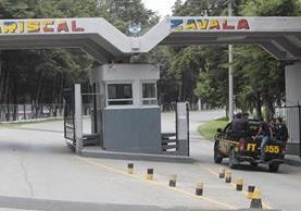 En el Brigada Militar Mariscal Zavala está instalado el Centro de Detención de Hombres. (Foto Prensa Libre: Hemeroteca PL)