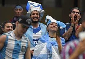 La selección de Argentina se impuso a Estados Unidos.