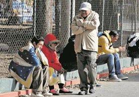 Las bajas temperaturas se mantendrá durante la semana debido a un frente frío en el país. (Foto Prensa Libre: Hemeroteca PL)