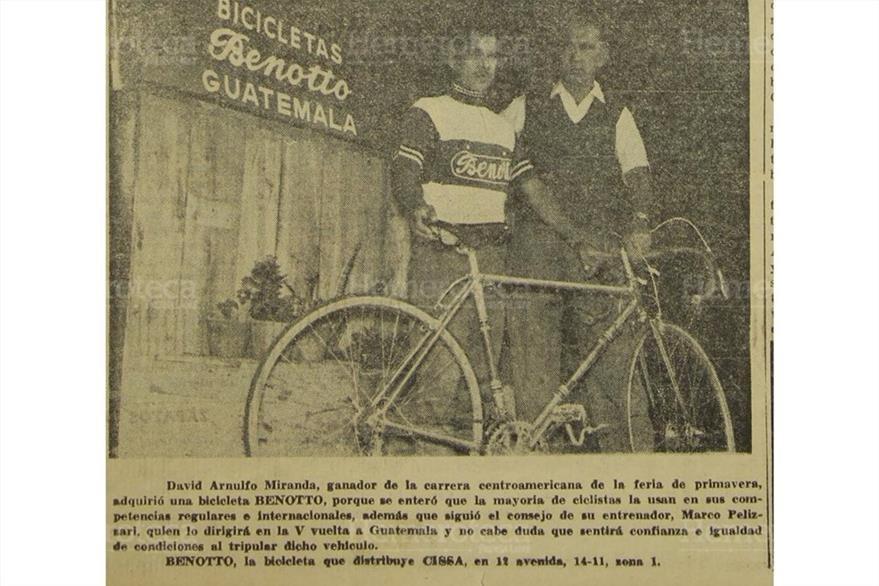 No faltaron las promociones de bicicletas. (Foto: Hemeroteca PL)