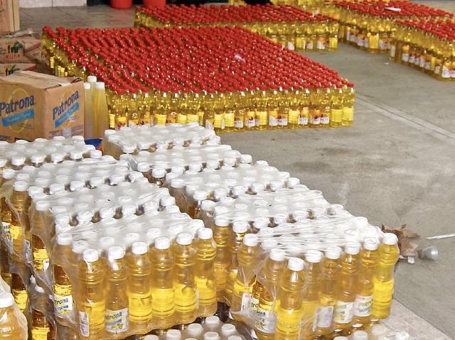 El sector de aceites es uno de los más perjudicados por el contrabando.