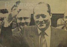 General Carlos Arana Osorio en 1970. (Foto: Hemeroteca PL)