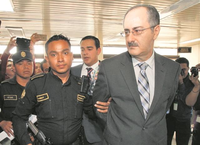 Pedro Muadi, expresidente del Congreso de la República. (Foto Prensa Libre: Hemeroteca PL)