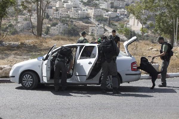 Refuerzan seguridad en varias ciudades de Israel. (Foto Prensa Libre:AFP).