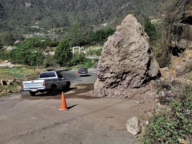 Varios tramos tienen  problemas por  falta de mantenimiento, como la ruta Cito-Zarco, en Retalhuleu.