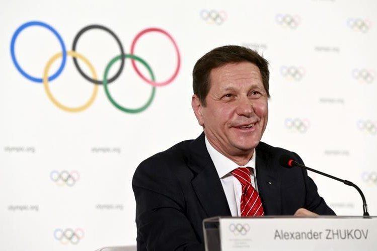 Alexandr Zhúkov, presidente del Comité Olímpico Ruso, aprobó al equipo que representará a su país en los Juegos Olímpicos de Río. (Foto Prensa Libre: Hemeroteca)