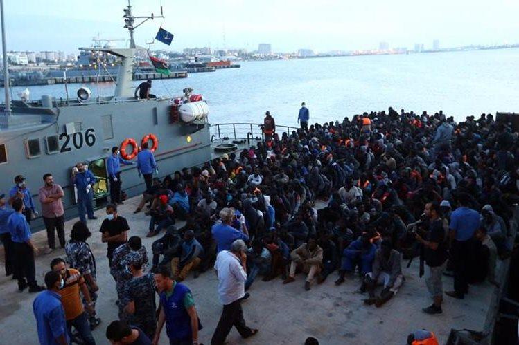 Mueren 1.530 migrantes y refugiados en Mediterráneo en 2017: OIM