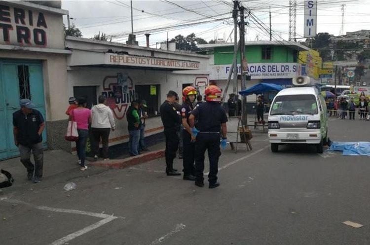 Ataques por extorsión a empresas continúan enlutando a familias guatemaltecas. (Foto Prensa Libre: Érick Ávila)