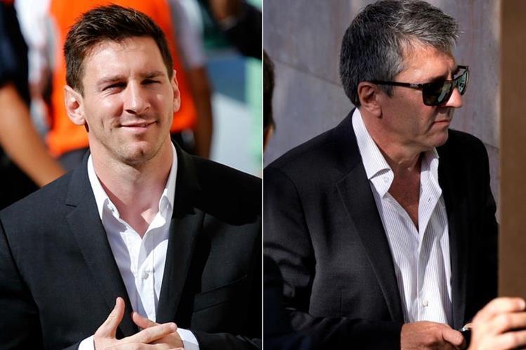 Leo Messi junto a su padre Jorge Messi serán juzgados por la justicia española. (Foto Prensa Libre: Ojodeprensa.com.ar)