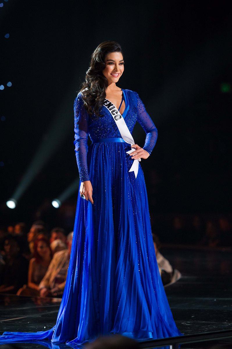 Wendy Esparza es la representante de México. (Foto Prensa Libre, EFE)