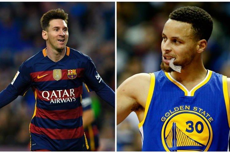 Messi y Curry volvieron a interactuar en las redes sociales. (Foto Prensa Libre: TodoDeportes)