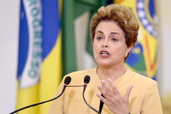 Dilma Rousseff, presidenta suspendida se encuentra en proceso de destitución.(AFP).