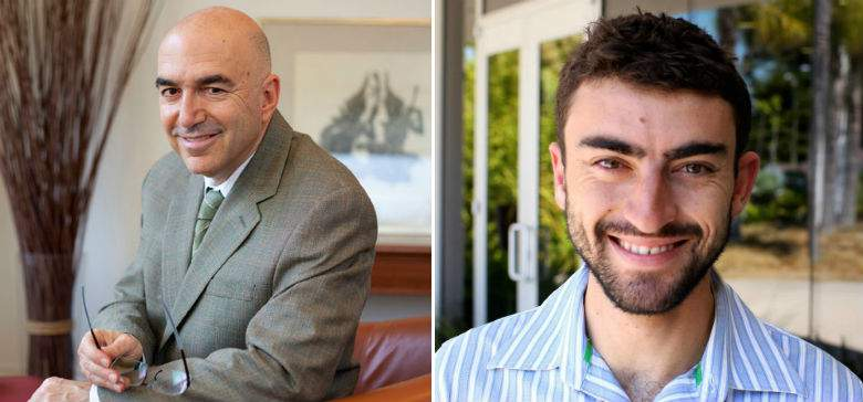 Médicos Howard y Andrew Kornfeld